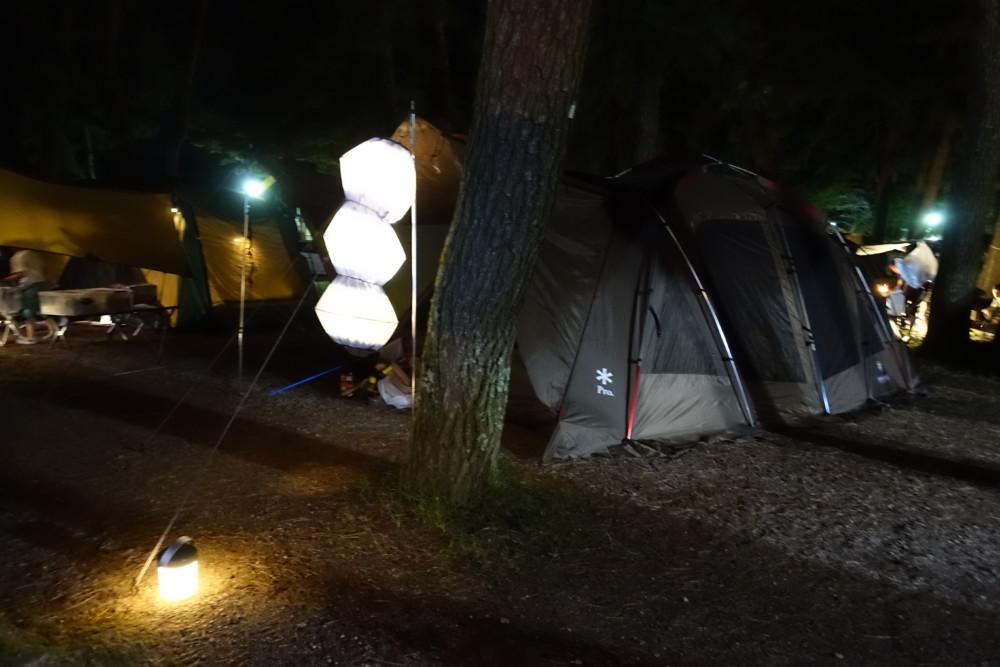 夏の琵琶湖キャンプ